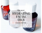 hydrating face oils